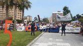 Manifestación antitaurina de Gijón