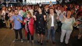 Ana Pontón cerró la campaña en Vigo acompañada de 600 militantes y simpatizantes.