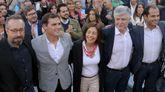 Rivera tuvo ayer en A Coruña su mayor aforo de campaña.