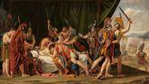«Muerte de Viriato», de José de Madrazo, considerado la obra cumbre del neoclasicismo español. Museo del Prado