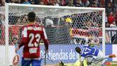 Moi Gómez ante el segundo gol realista