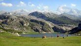 El lago Ercina, en Picos de Europa