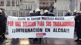 Protesta de los trabajadores de Montrasa