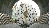 Tuneladora en Pajares