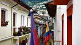 La calle de La Ronda en Quito (Ecuador)