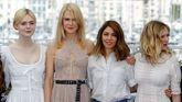 Elle Fanning, Nicole Kidman, Sofia Coppola y Kirsten Dunstand, posan en el photocall del festival