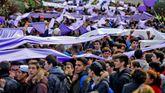 Marcha escolar por el Día Internacional para la erradicación de la Violencia de Género