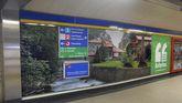 Campaña de turismo de Asturias en el metro de Madrid