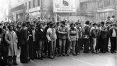 Huelga en Sama de Langreo en los años 70