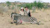 Un fotograma de «Safari», de Ulrich Seidl