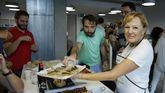 Tere Ramos, la «mamá» de Vippter les prepara comida casera los viernes