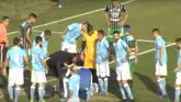 Un árbitro salva la vida en un duelo de la cuarta división argentina