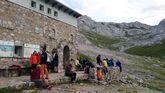 El refugio de Urriellu, en Picos de Europa
