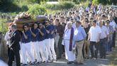 Numerosos vecinos quisieron dar el último adiós al joven fallecido la madrugada del sábado