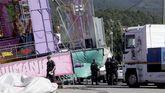 El montaje de las fiestas devolvió a la villa una profusa presencia policial