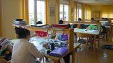 Un grupo alumnos estudia en la biblioteca del Colegio mayor San Gregorio, de la Universidad de Oviedo