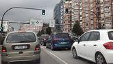 Atasco en el acceso a Oviedo