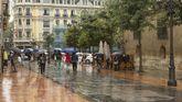Lluvia en Oviedo los días previos a San Mateo.