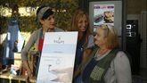 Donación de cuero en La Granera a cambio de un café