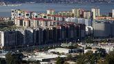 Polígono de Navia, donde están concentrados muchas de las viviendas protegidas de la ciudad