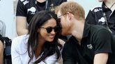 El príncipe Harry y su novia Meghan Markle