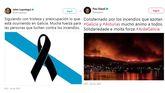 Las redes sociales se vuelcan con Galicia