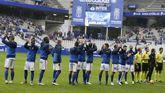 Alineación del Real Oviedo ante el Lugo