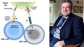 El neurólogo asturiano afincado en Estados Unidos, Juan Fueyo, ha pronunciado una conferencia en Oviedo sobre las terapias genéticas para combatir el cáncer, como el tratamiento con células T que ya se usa en pacientes