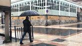 El temporal de lluvia barre Oviedo