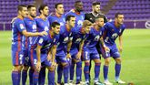 Alineacion del Real Oviedo en el Jose Zorrilla