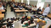 En la imagen, un taller sobre calzado en Diseño Industrial, una de las pocas titulaciones del campus que logran cubrir todas sus plazas curso tras curso