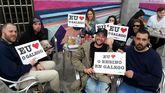 Campaña de la Mesa de Normalización lingüística en Malpica.