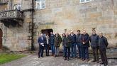 Regueira, responsable provincial de Turismo, mantuvo una reunión con varios alcaldes recientemente