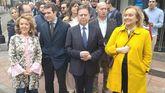 Teresa Mallada, Pablo Casado, Alfredo Canteli, Susana López Ares, Luis Venta y Mercerdes Fernández
