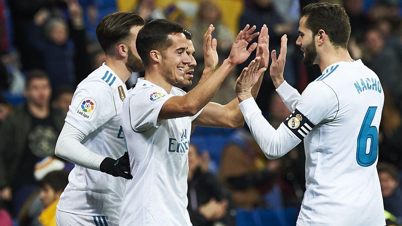 Alineaciones Real Madrid y PSG