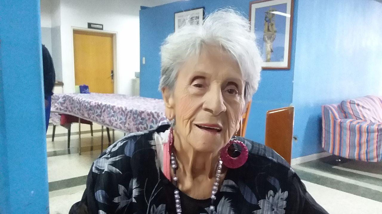María Luz Lopez, emigrante gallega en Venezuela