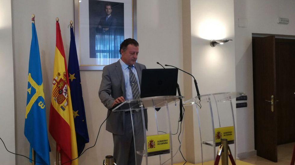 Campaña 2017 «Vuelve al Paraíso. Ven a Asturias».Manuel Mora, delegado de la Agencia Estatal de Meteorología