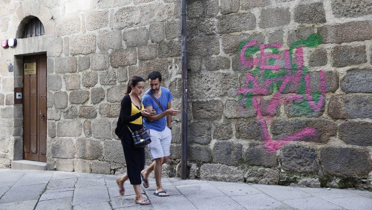 La huella de los grafiteros, en imágenes