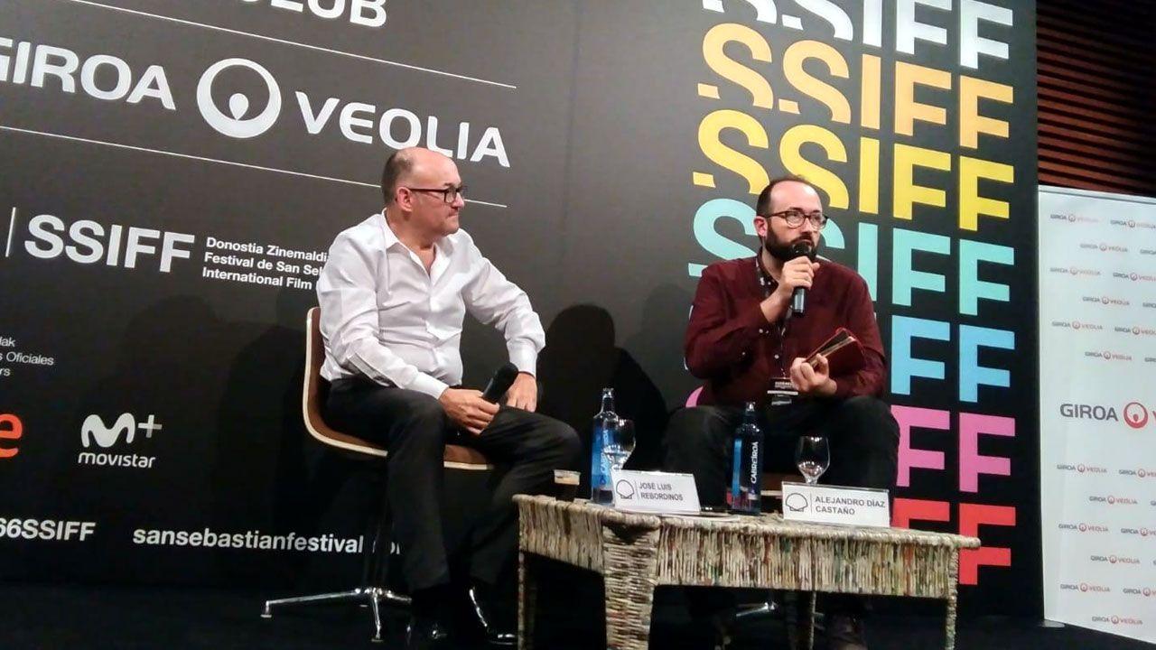 José Luis Rebordinos y Alejandro Díaz Castaño presentan «Crossroads» en San Sebastián