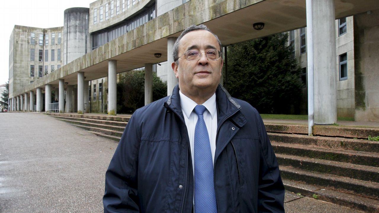 El fundador de Blusens declara ante el juez.Registro Civil de Pontevedra