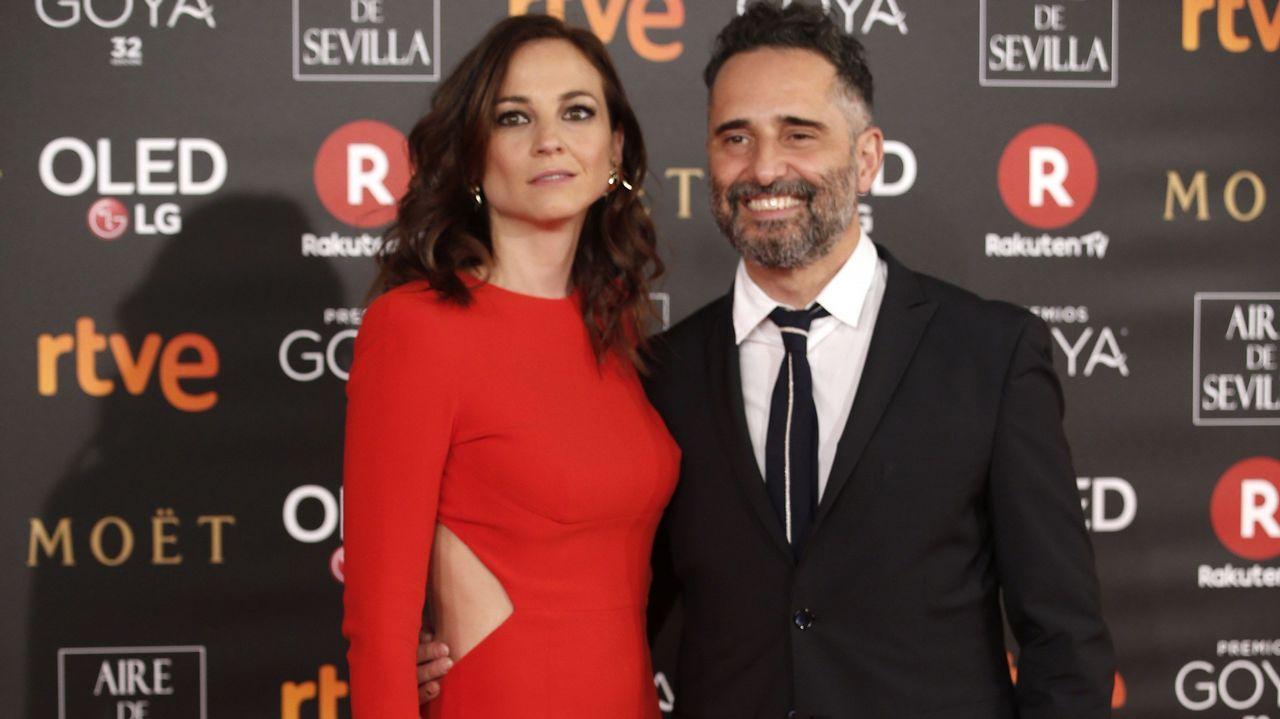 .La actriz  y cantante Leonor Watling junto a su pareja. el músico Jorge Drexler.