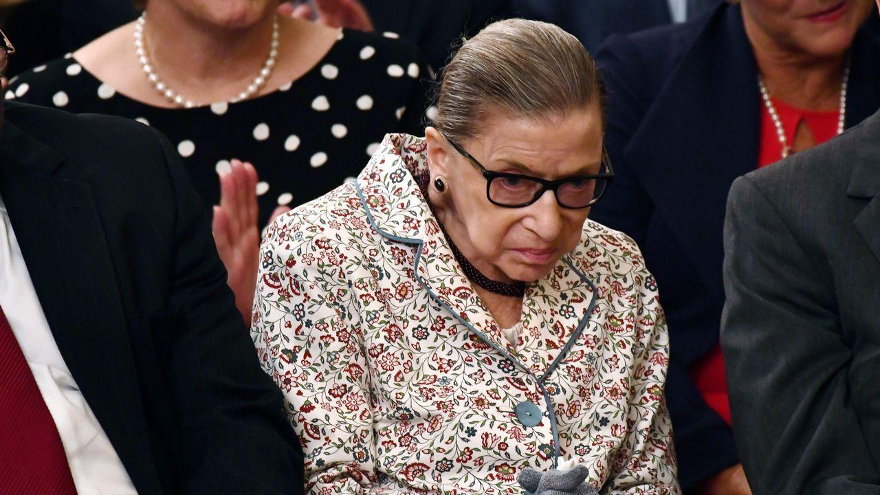 Ruth Bader es, a sus 85 años, la jueza decana del Tribunal Supremo