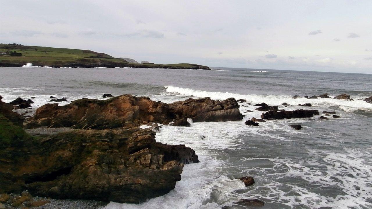 El litoral asturiano