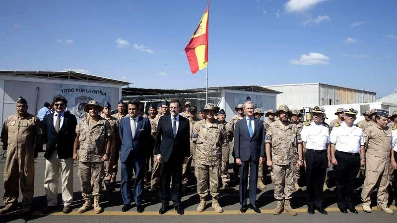 Rajoy destaca la labor de las tropas españolas en África contra la piratería