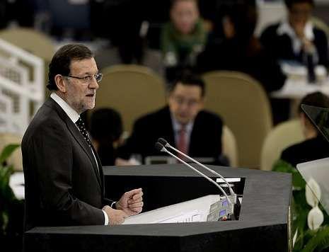 Rajoy proclamó esta semana, desde Estados Unidos, el fin de la recesión en España.