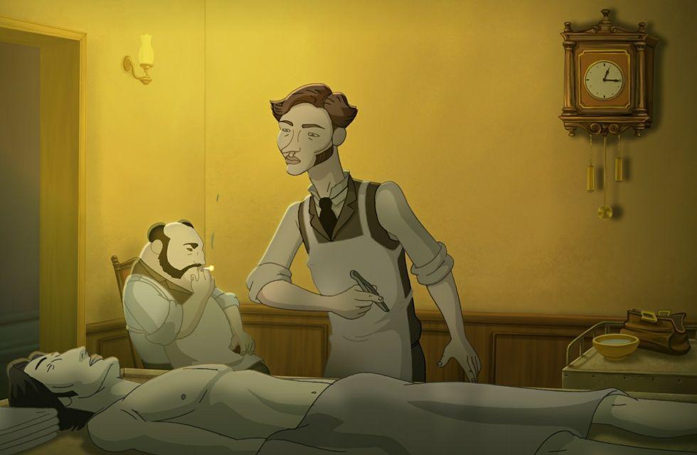 El realizador vigués Martín Rodríguez despega con su primer corto de animación