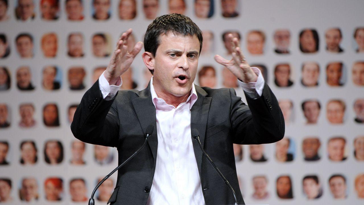 | EFE.Manuel Valls