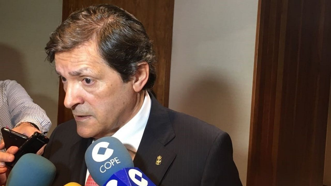 Imagen de archivo del jefe del Ejecutivo asturiano, Javier Fernández