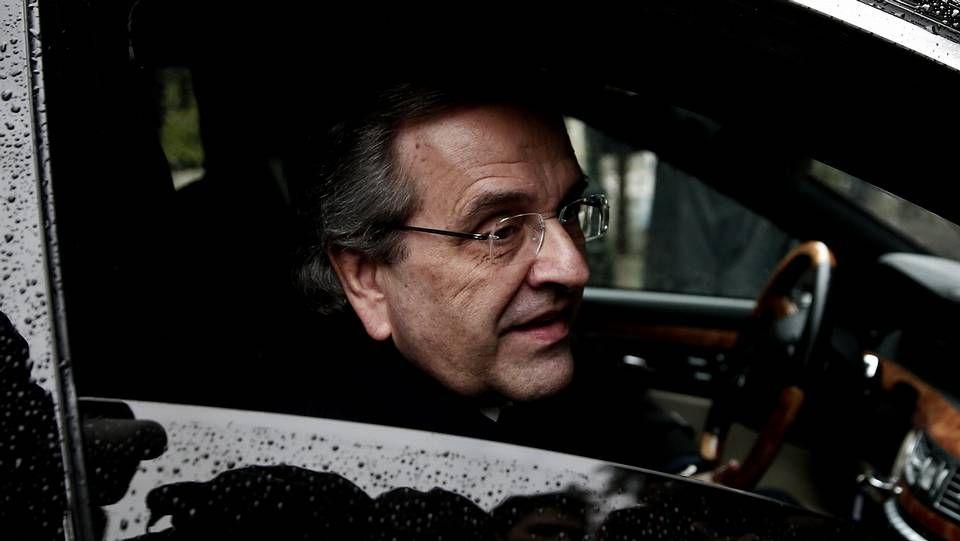 Antonis Samaras, primer ministro heleno