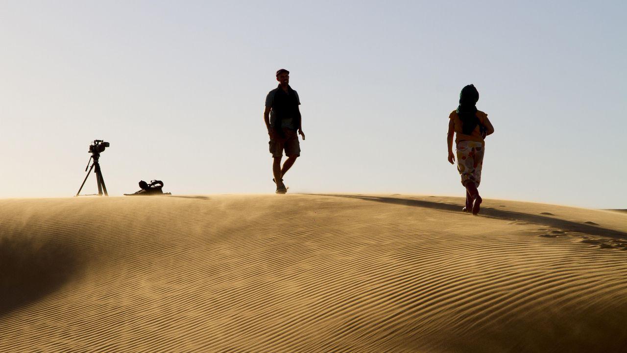 O deserto ten unha presenza poderosa en «Hamada»